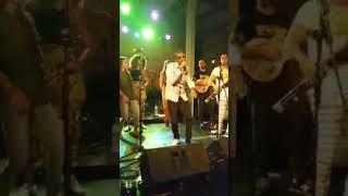 Grammo Suspect - Rainbow Ambassador Kenya performing live,with BCN Afro Beats Band