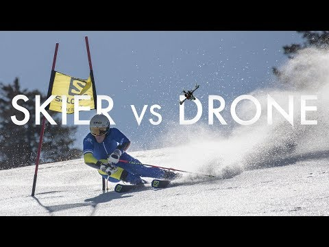 Salomon TV | Narciarz vs dron