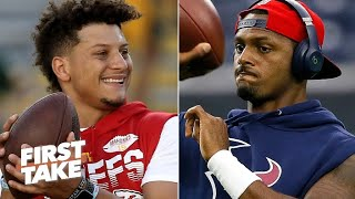 Deshaun Watson or Patrick Mahomes: Which QB is more important to their team? | First Take