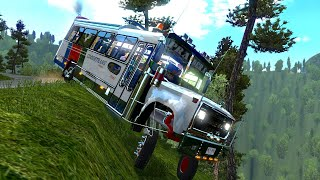 ¡MI PEOR ACCIDENTE EN BUS! - Al ABISMO - Reto Fail - Euro Truck Simulator 2