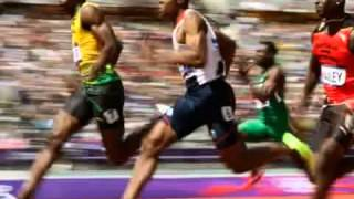 Usain Bolt Of Jamaica Wins Gold In 100m at London Olympics 2012