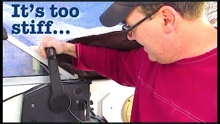 Boat Outboard Throttle Controls are hard to shift - taking it apart and fixing it for free