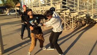 Backyard/Street Boxing Part 2