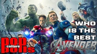 Who is the BEST Avenger?  Pop Culture Polls