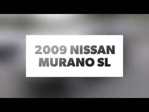 Pre-Owned 2009 Nissan Murano 2WD 4dr SL