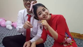 Quà cưới to bất ngờ tặng cặp đôi Tùng Nhạn