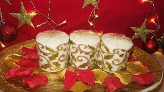 Christmas Candle Tutorial