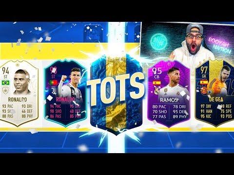 OMG TOTS IN INSANE FUT DRAFT REWARD!! FIFA 19 Ultimate Team Draft
