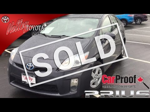 (SOLD) 2010 Toyota Prius Premium Package Preview, At Valley Toyota In Chilliwack B.C. # 16714A