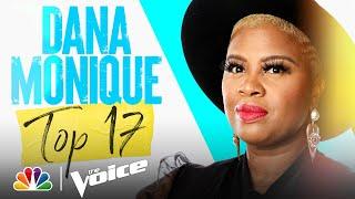 """Dana Monique Delivers on En Vogue's """"Free Your Mind"""" - The Voice Live Top 17 Performances 2021"""