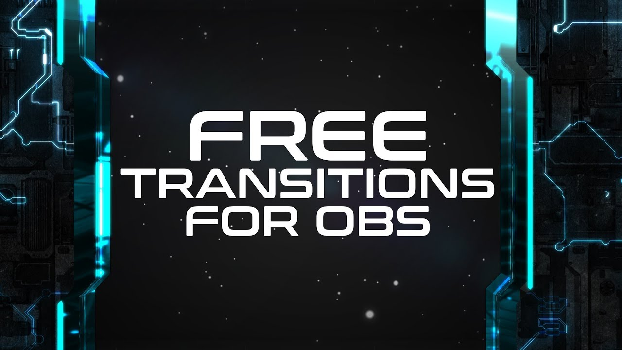 Twitch Stinger Transition Abstract Transitions template