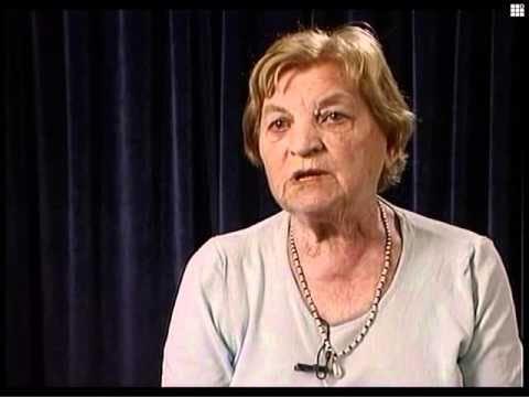 Двора Гильман (Радашкович) рассказывает о расстреле в Ушачах евреев Кубличей (Белоруссия)