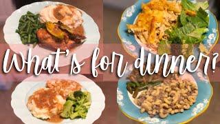 EASY FAMILY DINNER IDEAS // WHAT'S FOR DINNER WEDNESDAY!