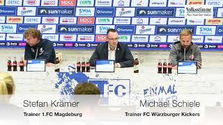 PK nach Spiel gegen Würzburg