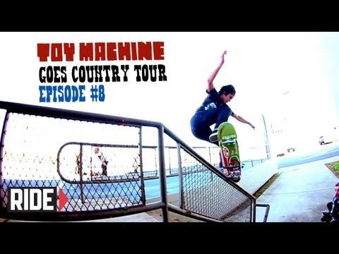 Toy Machine Tour with Leo Romero, Josh Harmony, Dan Lu, Collin Provost, and More!