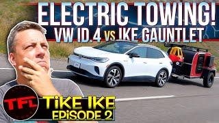 The Electric Volkswagen ID.4 Takes On The World's Toughest Towing Test...And It's A Nail-Biter!