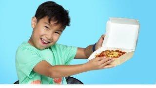 Kids Try Jollibee | Kids Try | HiHo Kids