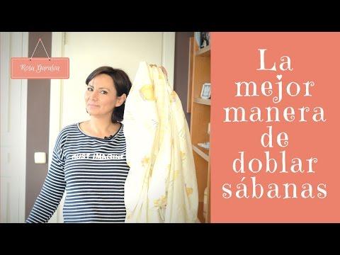 Vídeo: Aprende A Doblar Las Sábanas Ahorrando Espacio