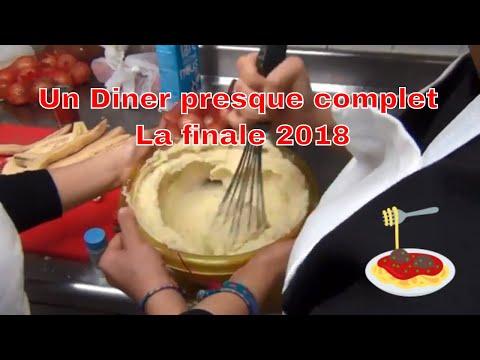 Un dîner presque complet 2018 – La finale