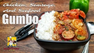 Seafood Gumbo Recipe | #SoulFoodSunday | Crock Pot Recipe