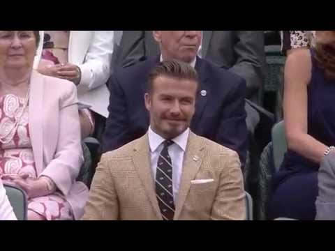 Download Beckham among sporting legends in Royal Box - Wimbledon 2014 HD Mp4 3GP Video and MP3