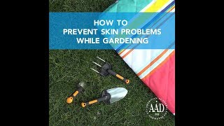 Newswise:Video Embedded gardening-this-spring-dermatologists-share-tips-to-prevent-skin-problems
