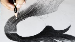 Basic Technique  For Hair Drawing ?