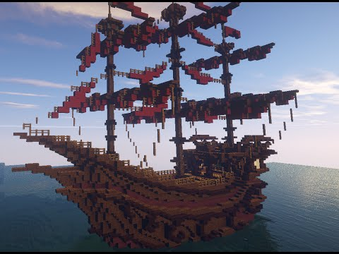 bateau v nitien venetian boat schematic minecraft project rh planetminecraft com minecraft ships schematics Minecraft Pirate Ship Blueprints