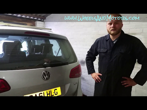 How to replace rear bumper cover for VW Sharan 7N / SEAT Alhambra