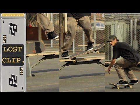 Dave Bachinsky Lost & Found Skateboarding Clip #42 SaltNPepper