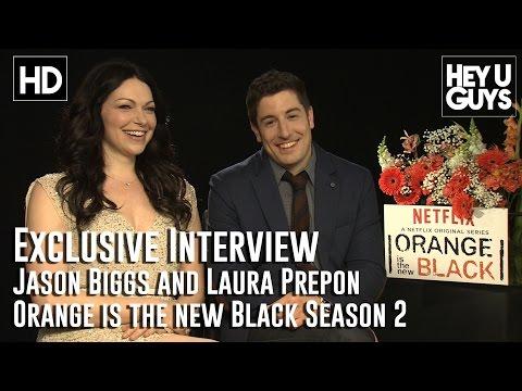 Entrevista a Laura Prepon y Jason Biggs sobre la segunda temporada
