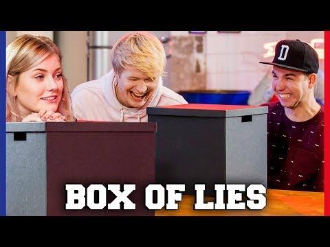 LIEGEN YOUTUBERS BIJ BOX OF LIES?   Dylan, Marije, Kelvin, Quinty   Challenges Cup #40