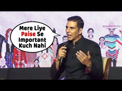 Akshay Kumar's SH0CKING Comment about his Filmy Career | Mere Liye Paise Se Important Kuch Nahi