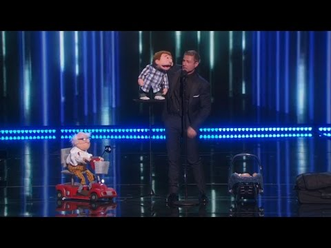 The winner of America's Got Talent 2015 Season 10 - Paul Zerdin ventriloquist
