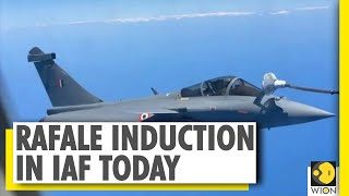 IAF to formally induct Rafale aircraft in IAF | Aircraft will be part of IAF's 17 squadron