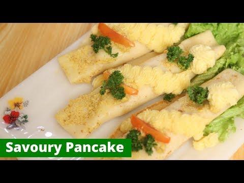 Savory Pancake Recipe | Mallika Joseph Food Tube