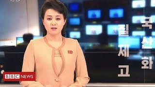 North Korea TV's makeover