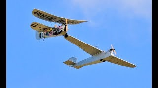 MULTIPLE VINTAGE RC MODELS DISPLAYING AT THE STOW MARIES GREAT WAR MUSEUM - 2019