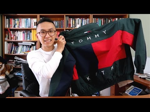 kith x tommy hilfiger jacket unboxing and review