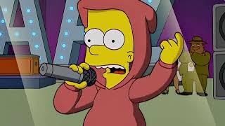 Симпсоны - 16 сезон - Шутник — рэпер (clip2)