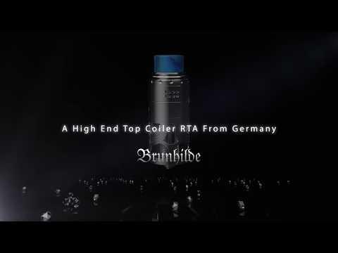 YouTube Video zu Vapefly Brunhilde Selbstwickelverdampfer 8 ml by German 103 / Dampfwolke 7