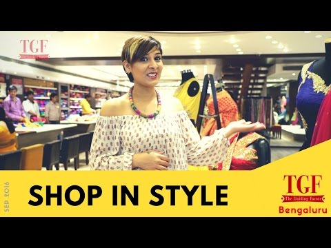 Shop in style in Bengaluru - Best places to shop for fashion and ethnic wear