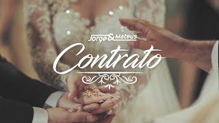 Jorge & Mateus   Contrato (Lyric Vídeo Oficial)