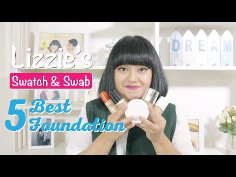 MY TOP 5 FOUNDATION | LIZZIE PARRA