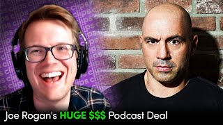 Why Hank Green Is Skeptical Of Joe Rogans HUGE $$$ Podcast Deal With Spotify