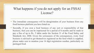 Make your customers more trustable by FSSAI registration