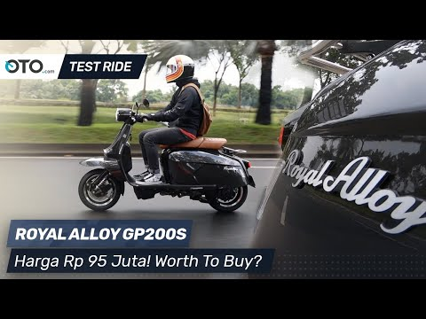 Royal Alloy GP200S | Test Ride | Skuter Klasik Rp 90 jutaan | OTO.com