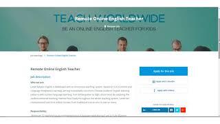 Landi Subject English is Seeking Remote Teachers
