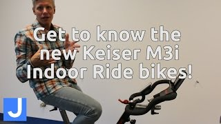 Learn about our new Keiser M3i Indoor Ride bikes!