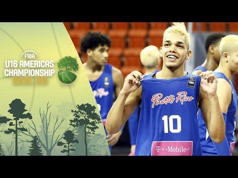 Uruguay v Puerto Rico - FIBA U16 Americas Championship 2019 [ESP]